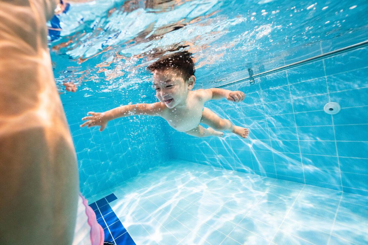 水中開心學習